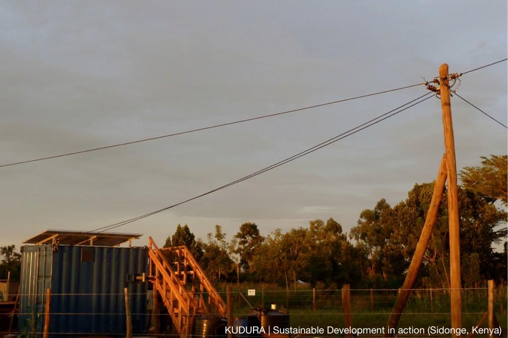 KUDURA sustainable development energy and water solution in action Sidonge, Kenya